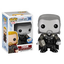 Thor the Dark World - Thor Black And White