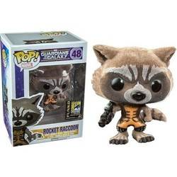 Guardians of the Galaxy - Rocket Racoon Flocked