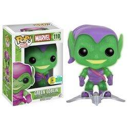 Marvel - Green Goblin Glow In The Dark Glitter And Translucide