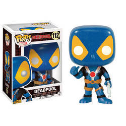 Deadpool - Deadpool Thumb Up Blue/Yellow