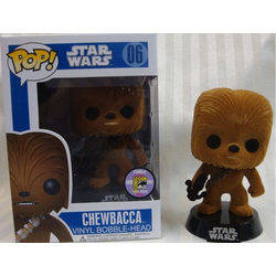 Chewbacca Flocked SDCC