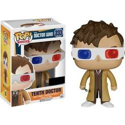 Doctor Who - Tenth Doctor With 3D Glasses