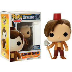 Doctor Who - Eleventh Doctor With Fez And Mop