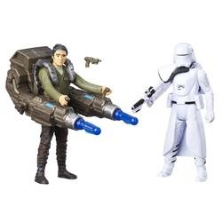 First Order Snowtrooper Officer VS Poe Dameron