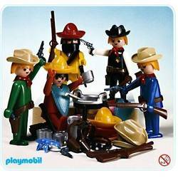 Set Cow-boys et Mexicains