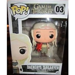 Game of Thrones - Daenerys Targaryen With Red Dragon