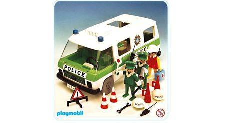 Camion police item 3253 les premiers playmobil vintage - Playmobil camion police ...