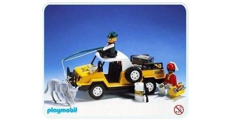 P625 Roues pour Camion 4x4 3528 Remorque 3529 SAFARI PLAYMOBIL
