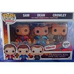 Supernatural - Sam, Dean And Crowley Metallic (Bloody) 3-Pack