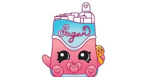 Attractive Sugar Lump   Shopkins Action Figure