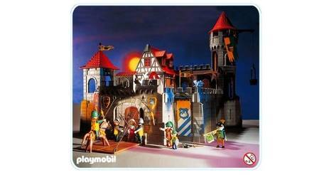 Ch teau fort et pont levis sets divers 3666 for Plan chateau fort playmobil