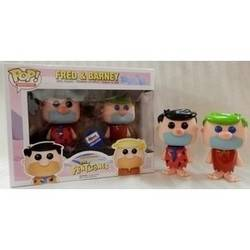 Hanna-Barbera - Fred And Barney Black And Green Hair 2 Pack