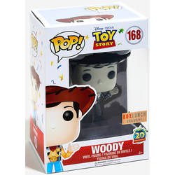 Toy Story - Woody 20th Anniversary Black And White