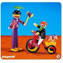 Clowns et tricycle