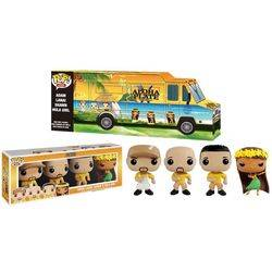 Aloha Plate - Truck With Adam, Lanai, Shawn And Hula Girl 4 Pack