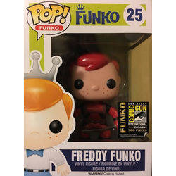 Freddy Funko Deadpool Red