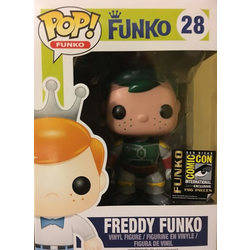 Freddy Funko Boba Fett Green Hair