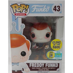 Freddy Funko Mad Hatter With Chronosphere Glow in The Dark