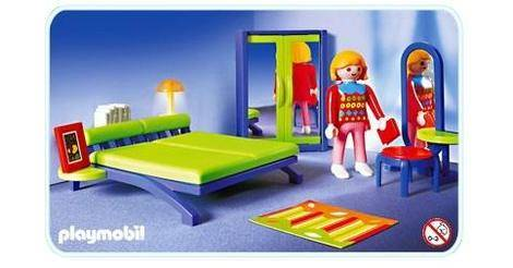 Bedroom playmobil sets 3967 for Playmobil kinderzimmer 4287