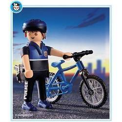Officer on Bicycle