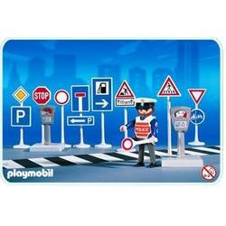 Traffic Signs With Police