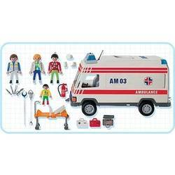 Secouristes et Ambulance