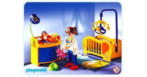 Maman et chambre de b b sets divers 3207 b for Piscine playmobil 3205