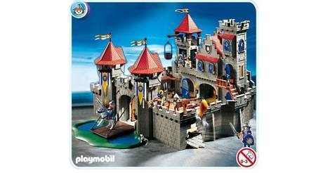 knights 39 empire castle playmobil sets 3268. Black Bedroom Furniture Sets. Home Design Ideas