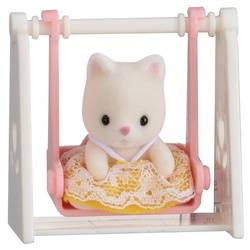 Baby Carry Case / Cat on Swing