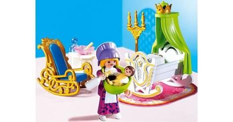 Nourrice et chambre de bébé - Playmobil Princesses 4254