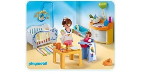 Chambre de b b sets divers 4286 for Playmobil buanderie