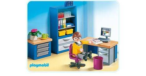 The home office playmobil sets 4289 for Playmobil kinderzimmer 4287