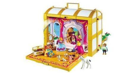 coffre de princesses transportable sets divers 4249. Black Bedroom Furniture Sets. Home Design Ideas