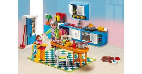 Cuisine sets divers 5329 for Playmobil cuisine 5329