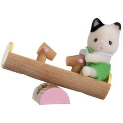 Baby Carry Case / Cat on See-saw