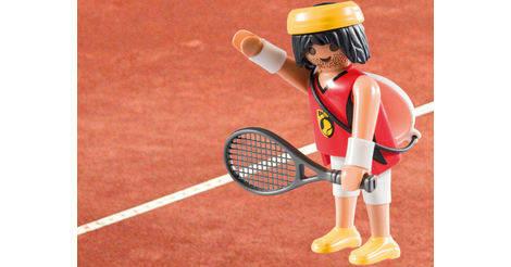 champion de tennis personnage 5598 playmobil figures. Black Bedroom Furniture Sets. Home Design Ideas