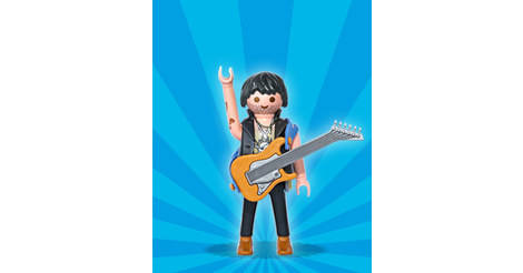 guitarist playmobil figures series 1 5203. Black Bedroom Furniture Sets. Home Design Ideas