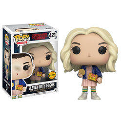 Stranger Things - Eleven With Eggos With Blond Wig