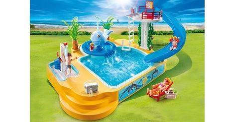 Famille avec piscine et plongeoir sets divers 5433 for Playmobil 5433 famille avec piscine et plongeoir