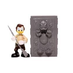 Donald Duck as Han Solo in Carbonite