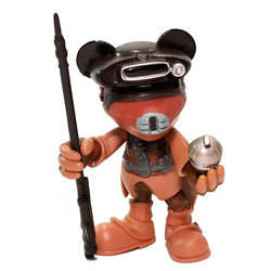 Minnie Mouse as Princess Leia in Boushh Disguise