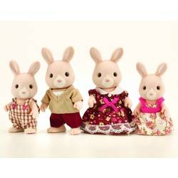 Champagne Rabbit Family