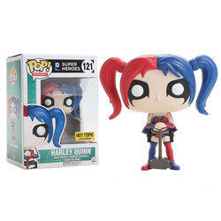 DC Super Heroes - Harley Quinn Blue And Red