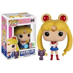 Sailor Moon - Sailor Moon with Luna Glitter