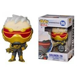 Overwatch - Soldier 76 Red And Yellow