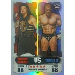 Roman Reigns vs Triple H