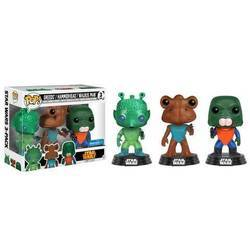 3 Pack - Greedo, Hammerhead, and Walrus Man
