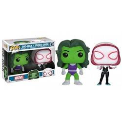 She-Hulk And Spider Gwen - 2 pack