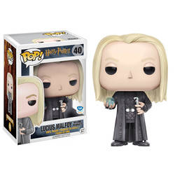 Harry Potter - Lucius Malfoy Holding  Prophecy