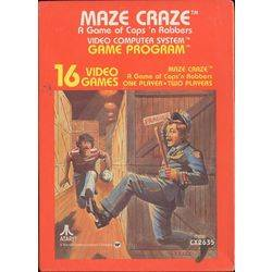 Maze Craze: A Game of Cops and Robbers